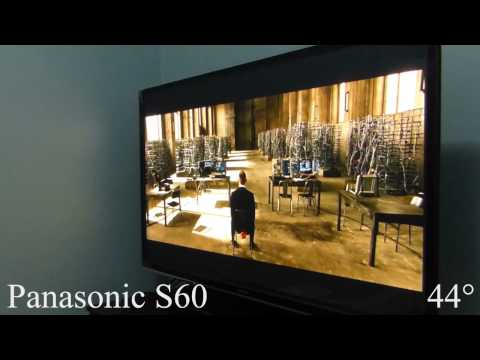 Panasonic S60 Plasma TV Viewing Angle