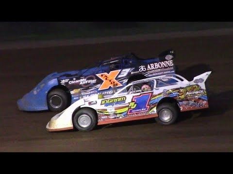 RUSH Crate Late Model Feature | McKean County Raceway | 8-17-17