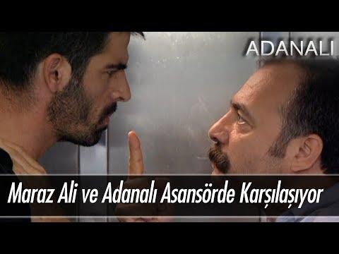Maraz Ali ve Adanalı asansörde karşılaşıyor!