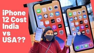 iPhone 12  pro Cost India vs USA?| India Aauge th iPhone le ana| Albeli Ritu