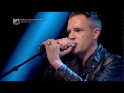 Smile like You Mean It - The Killers Mtv live 2012