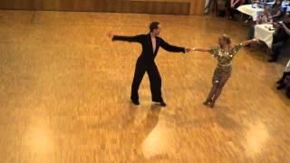 Katharina & Johannes Cha Cha Cha @ German World of Dance 2012 Wettbewerb Social Dancing Competition