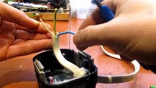 Переделка аккумуляторного шуруповёрта в сетевой 220в своими руками