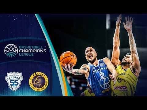 Neptunas Klaipeda V Falco Szombathely – Highlights – Basketball Champions League 2019-20