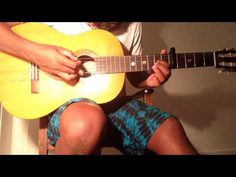 Oliver Mtukudzi kunze Kwadoka guitar cover chords tabs tutorial