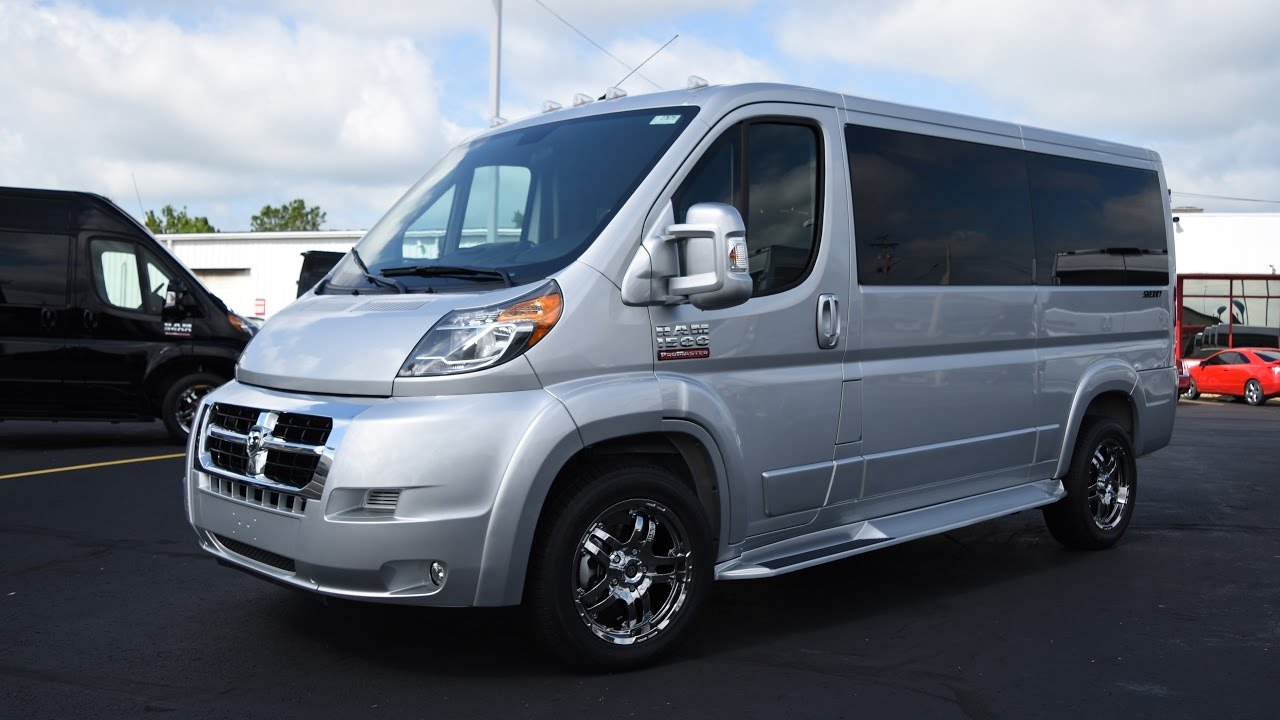 Wheelchair Accessible 2016 Ram Promaster Low Top