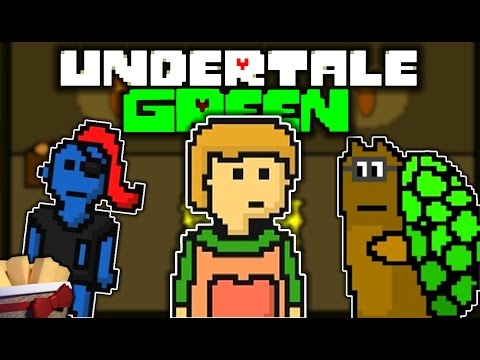 UNDERTALE GREEN FULL GAME PACIFIST RUN | A STORY OF KINDNESS