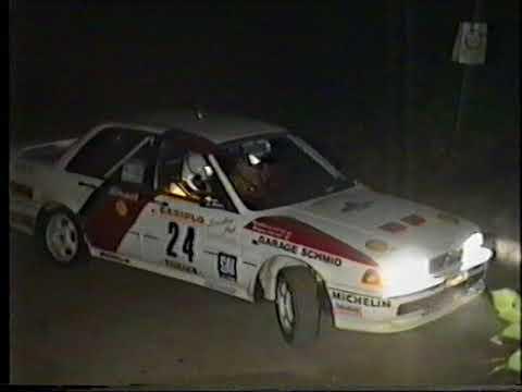 Rally della Lana 1992 vinto da Piero Longhi PS Prascorsano