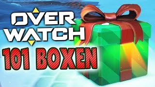 101 Weihnachts-Lootboxen! | OVERWATCH thumbnail