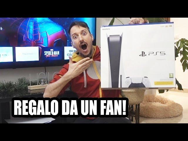 UN FAN MI HA REGALATO LA SUA PS5 !! (la mia reazione emozionante)