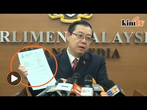 Guan Eng tunjuk surat Kelantan minta wang dari Pusat untuk bayar gaji