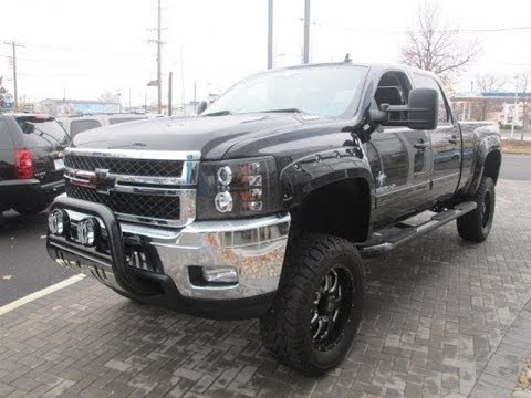 Lifted 2014 Chevy Silverado 2500HD Southern Comfort Black Widow ...