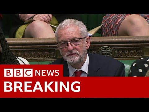 Corbyn: May has 'lost the authority to deliver' - BBC News