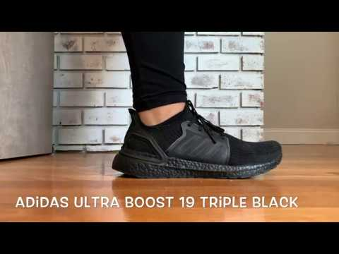 Darth Vader Your Sneakers Are Here, The Adidas Ultra Boost 19 Triple Black