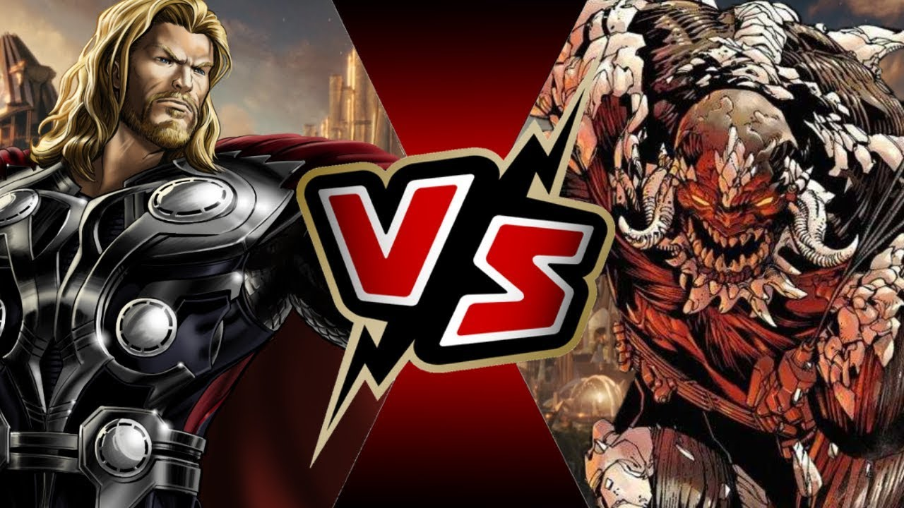Thor Vs Doomsday Battle Arena Youtube