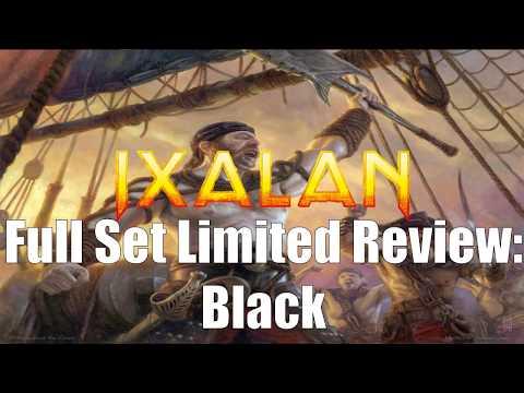 Ixalan Full Set Limited Review:  Black