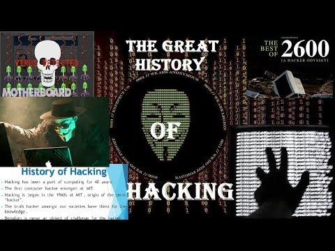 The Great History Of Hacking in Hindi ||TECHNICAL TECHNOLOGIES|| from YouTube · Duration:  7 minutes 44 seconds