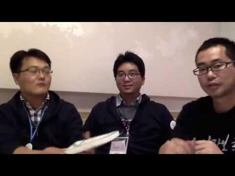 "Interview with 이명교 and 신황규 at ""OpeniT 2014"", Samsung SDS internal Agile conference"