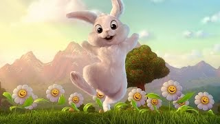 Easter Bunny caught on tape 2015