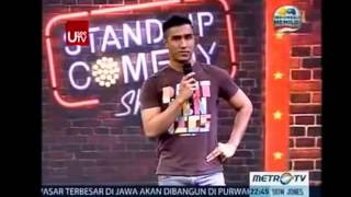 Oji @ Stand Up Comedy Show Indonesia MetroTV 29 Januari 2014