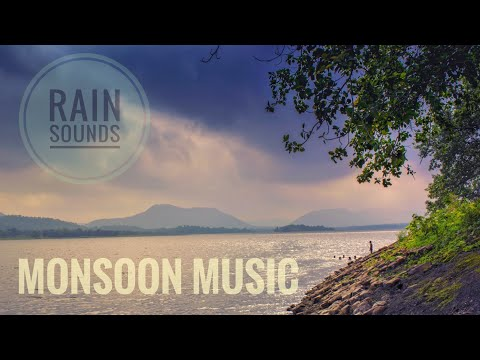 Monsoon sounds - rain music 30mins 1080p