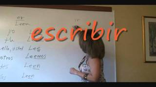 er ir ending verbs present tense regular long version wmv