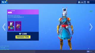 *NEW* NARA & TARO SKINS! (Fortnite Item Shop 24th November)