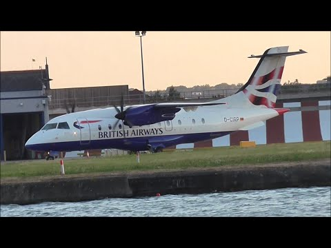 Various Dornier 328 Movement at London City Airport Special - 10/09/15