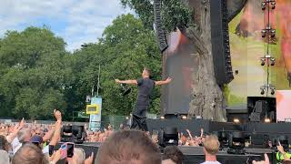 Keane - Somewhere only know. 4K Live at British Summer Time, Hyde Park, London, UK!