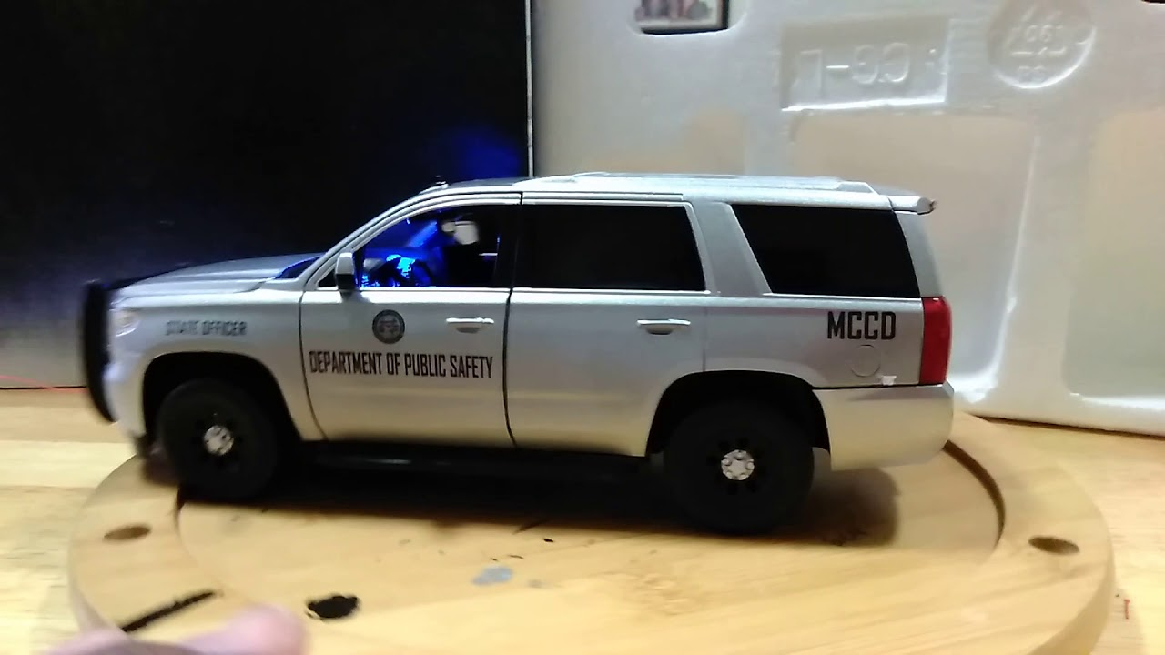 Toyota Trd Pro >> 1/24 POLICE: Georgia Dept of Public Safety MCCD 2016 Tahoe ...