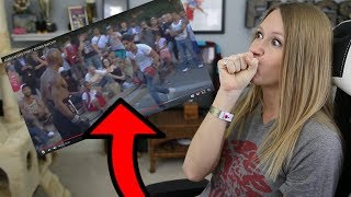 ADAM SALEH BOXES IN A STREET FIGHT | My Reaction