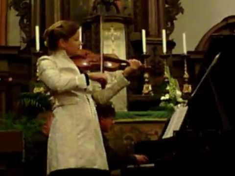 Schumann Sonate a-moll Violine/ Klavier 2. Satz