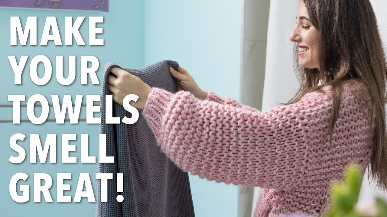 3 Ways to Get Your Towels Looking, Feeling & Smelling Great!