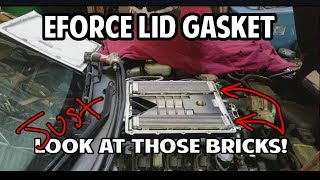 Eforce Lid Gasket Replacement +A look at the Inter cooler Bricks