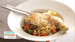 One-pot Chicken And Rice With Swiss Chard | Everyday Food With Sarah Carey