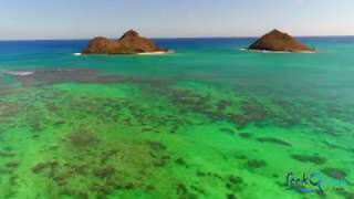 Phantom 4 Pro Oahu, Hawaii 4K Drone Flight Honolulu Kailua Beach Hanauma Bay Diamond Head 2017