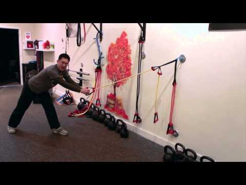 Warrior with band: a new exercise to rebuild your hamstrings with eccentric contractions