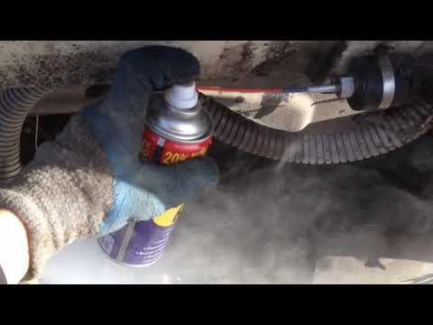 Запуск автономки,чистка,сухой фен эбешпехер