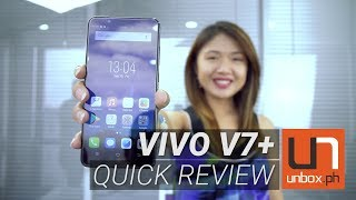 Vivo V7+ Quick Review