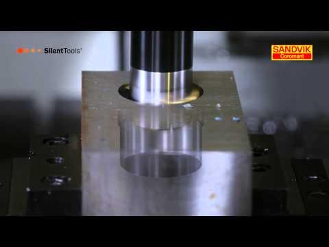 Silent tools finish boring by Sandvik Coromant
