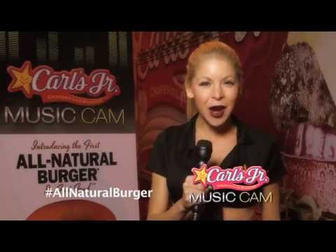 Anne McDaniels Hosts Carl's Junior Commercial on Sunset Strip