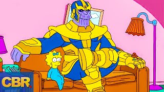 10 On Point Simpsons' Marvel References, Ranked