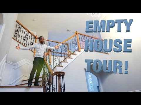Empty House Tour 2018! (Building Our Ultimate Smart Home)