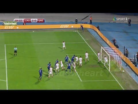 Κροατία-Ελλάδα 4-1 Highlights / Προκριματικά Π.Κ 18' / 1ος αγώνας {9/11/17}
