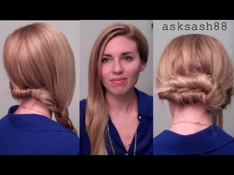 3 Easy, Quick Everyday Hairstyles For Long Hair U0026 Hairstyles For Medium Hair