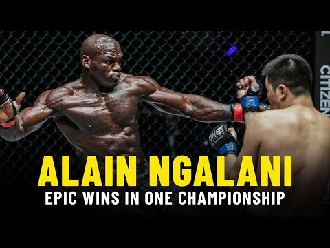Alain Ngalani's EPIC Wins In ONE Championship