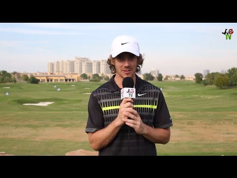 Claire On Course: Tommy Fleetwood Interview DP World Tour Championship 2014