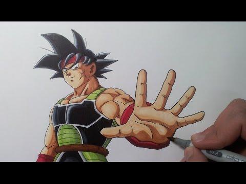 Drawing Bardock - Father Of Goku