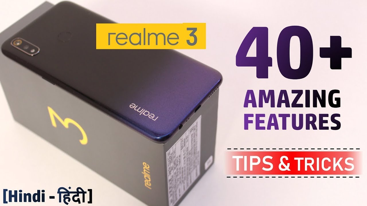 RealMe 3 Tips & Tricks | 40+ Special Features - TechRJ