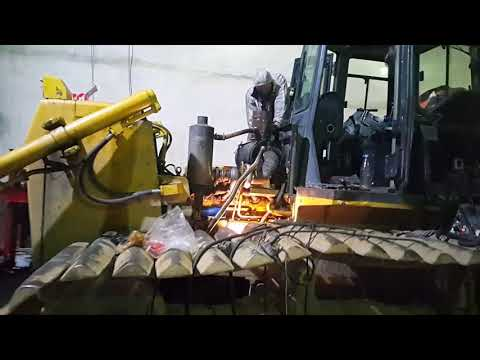 Сделал капитальный ремонт двигателя на Shantui Sd16